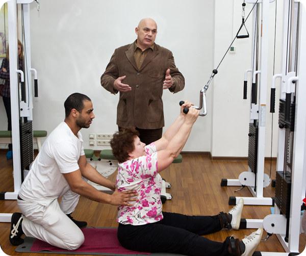 лечебние упражнения по Бубновскому