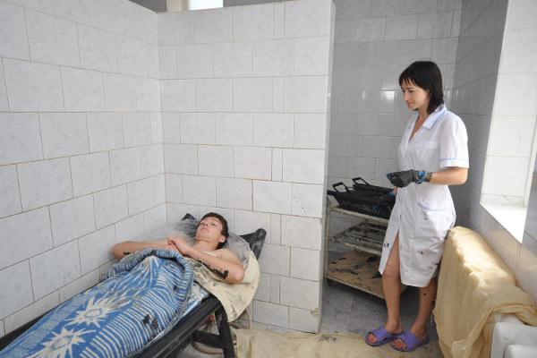 грязетерапия в санатории