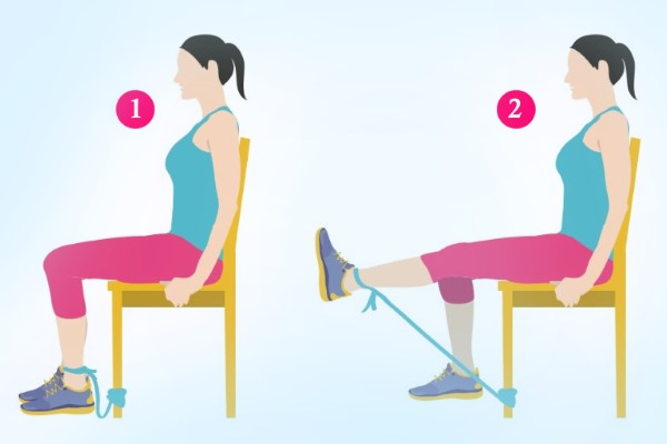 Гимнастика при артрозе колена