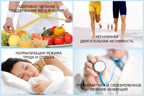 Правила профилактики артрита
