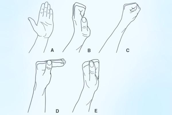 Упражнения для суставов кистей рук