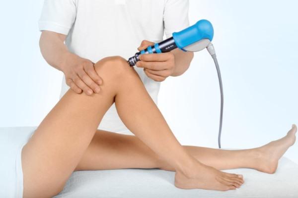 Физиотерапия в лечении бурсита колена