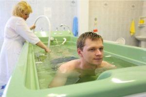 ванна в санатории лечение