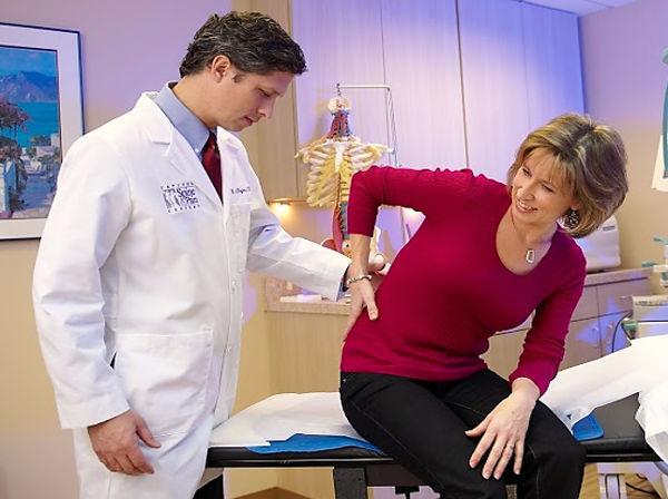 пациентка после укола