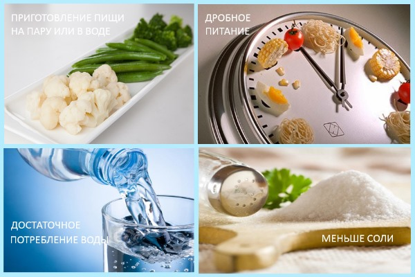Правила диеты при артрите