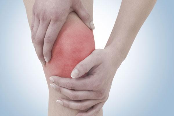 Препателлярный бурсит, больное колено