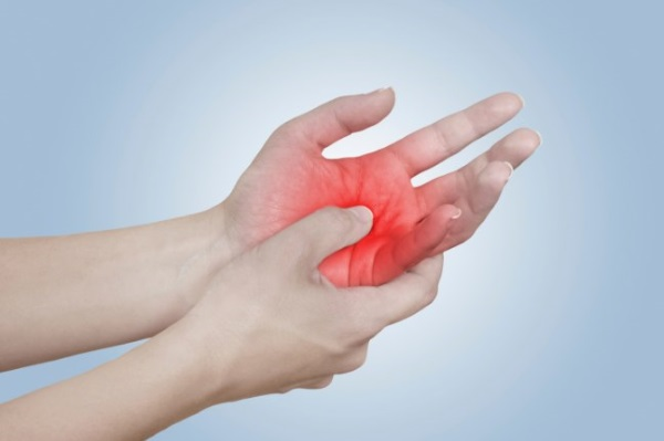 Боль в кисти при гигроме